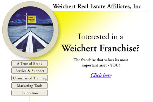Click to learn about a Weichert franchise.